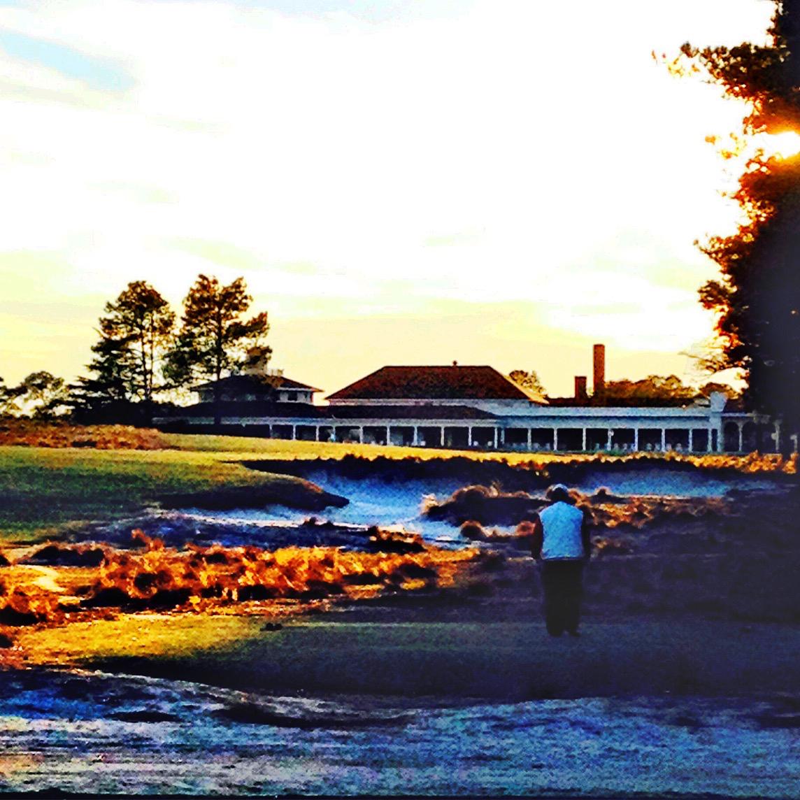Golfing Pinehurst  - Magazine cover