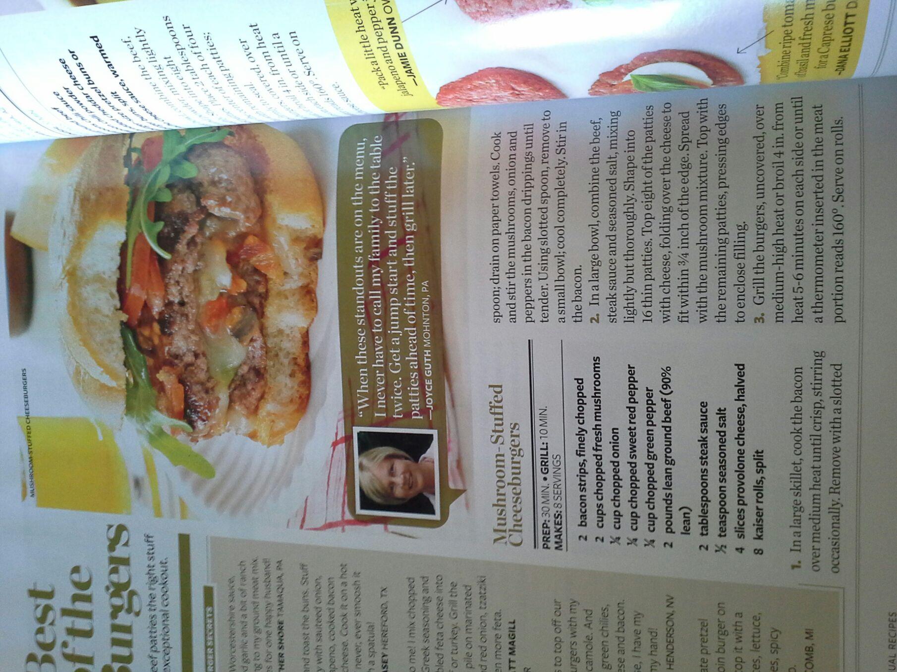 Recipes Compilation - Magazine cover