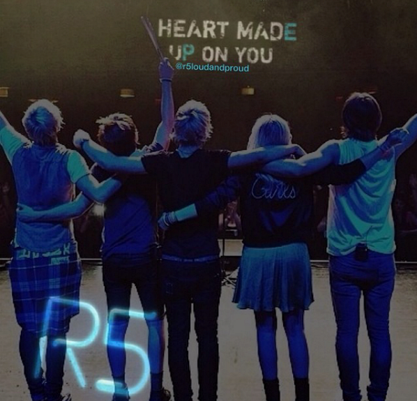 R5 Louder - Magazine cover