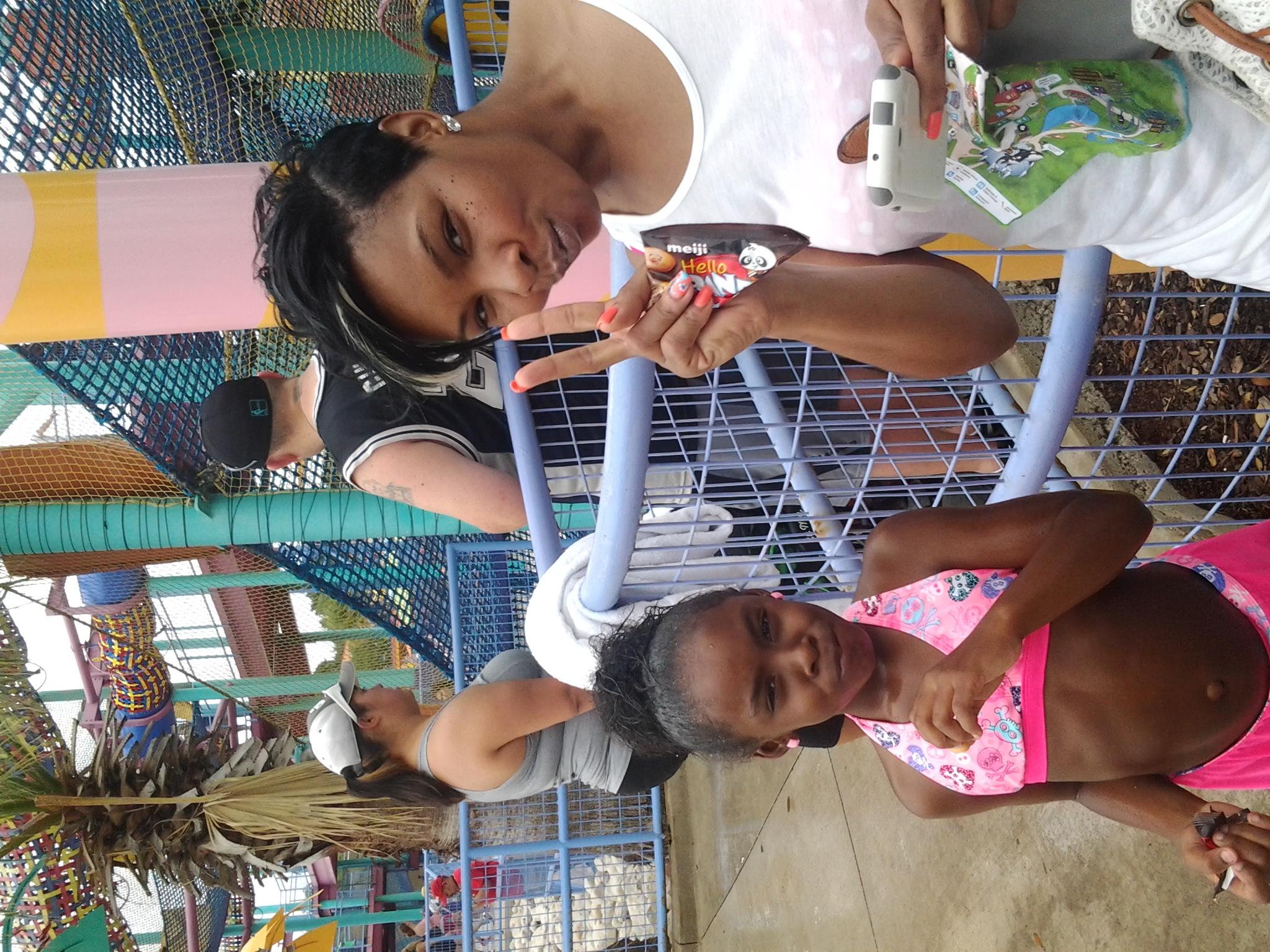 My Niece Mia And Daughter Jordan At Seaworld - Cover