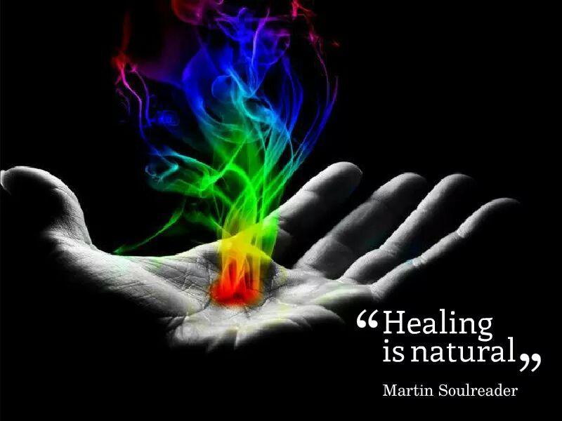 healing  - Magazine cover