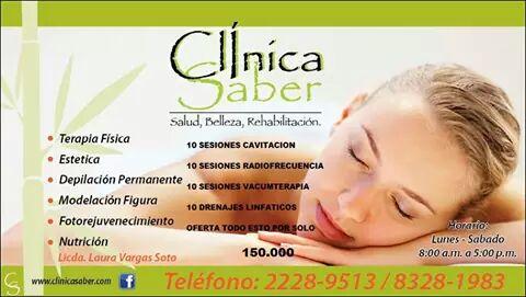 Clínica Saber - Magazine cover