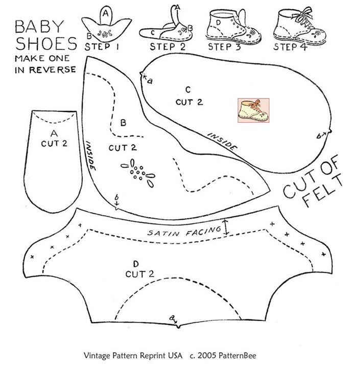 Tutorial Baby Shoes Maker - Magazine cover