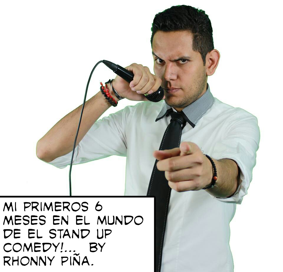 Mis Primeros 6 Meses En El Stand Up Comedy!  - Magazine cover