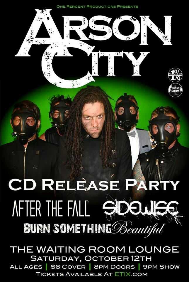 Arson City - Magazine cover