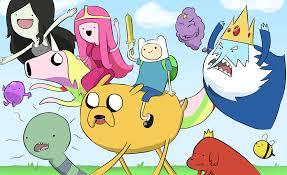 Adventure Time - Magazine cover