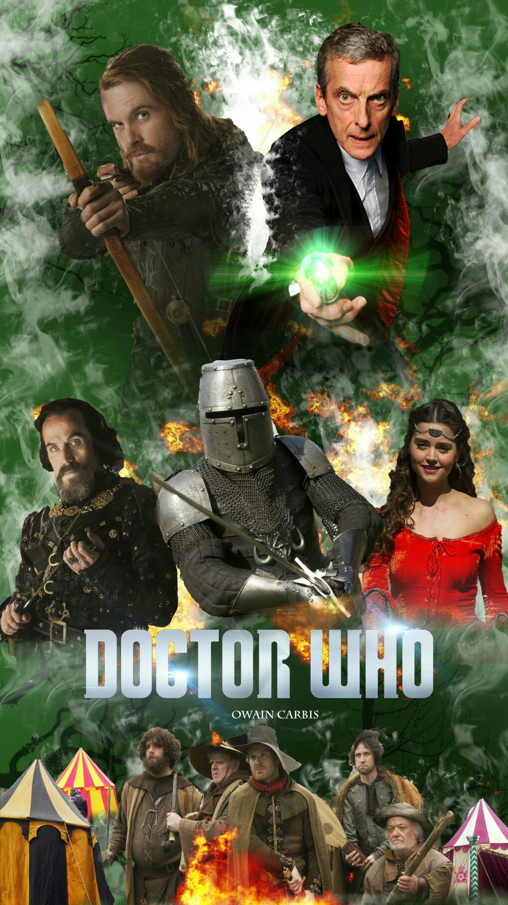 The Dr Who - Magazine cover