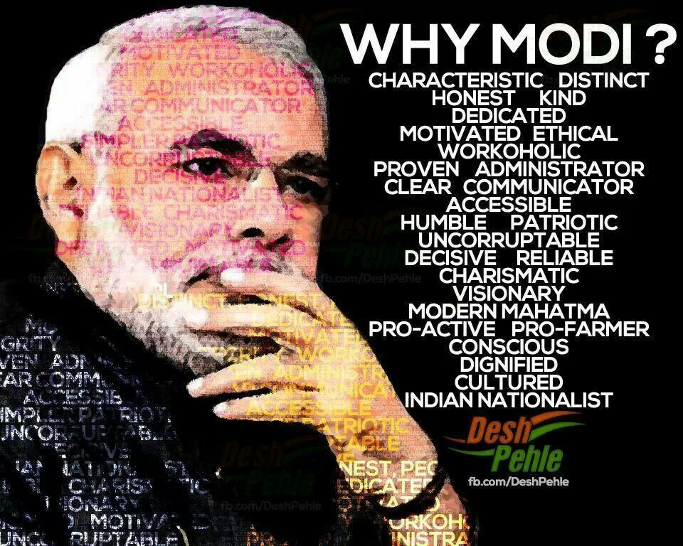Narendra Modi - Magazine cover