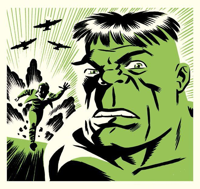Hulk - cover