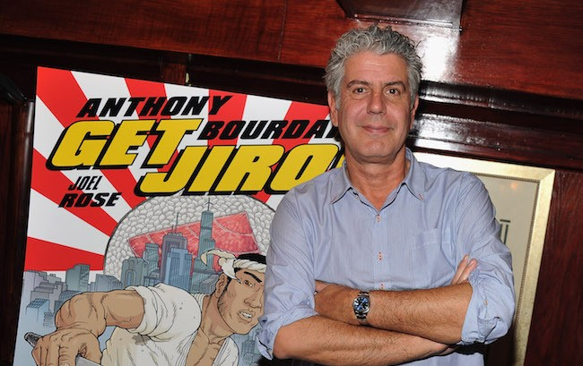 Anthony Bourdain Details His Final Meal, And We'd Totally Eat That
