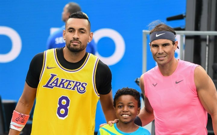Rafael Nadal And Nick Kyrgios Paid Tribute To Kobe Bryant At The Australian Open