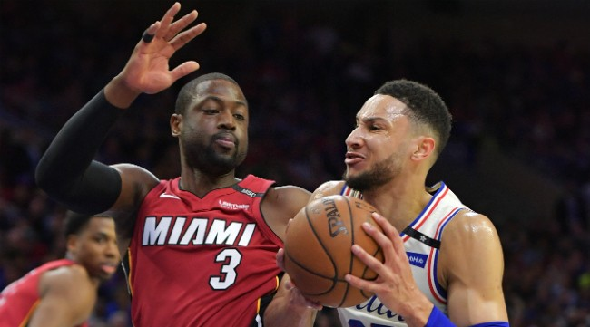 Dwayne Wade Couldn't Help Comparing Ben Simmons To LeBron After The Sixers Took Down The Heat