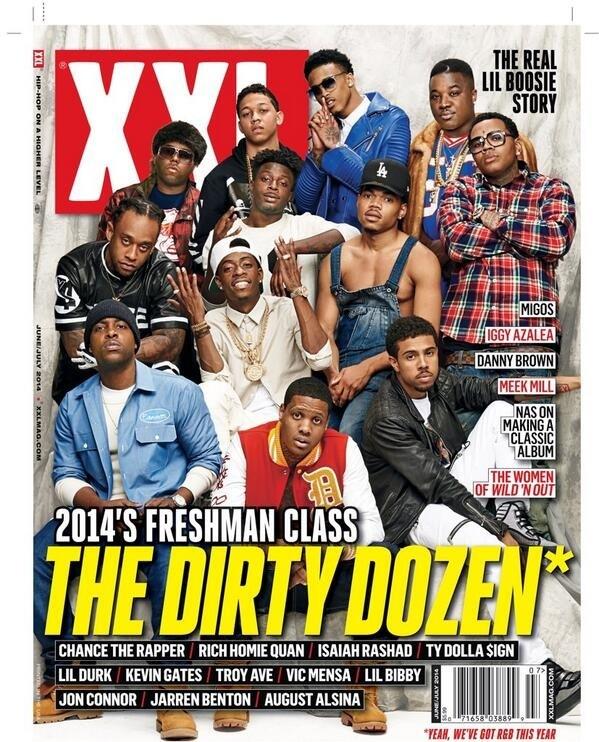 2014 Freshmen Xxl - Magazine cover