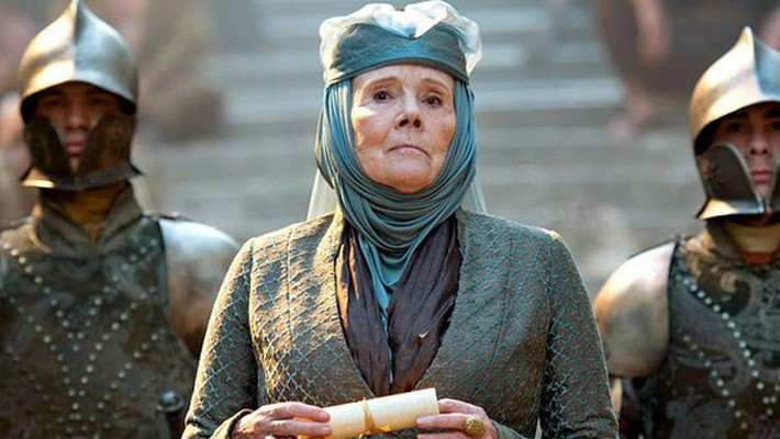 Diana Rigg Once Pulled A Hilarious Power Move On 'Game Of Thrones' Set