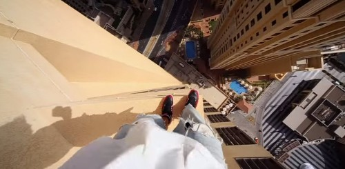 This Sky-High Parkour Video Is Unbelievably Terrifying
