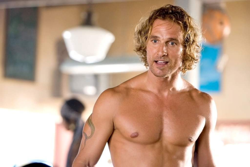 Matthew McConaughey Is Shockingly Not Hollywood's Most Shirtless Actor