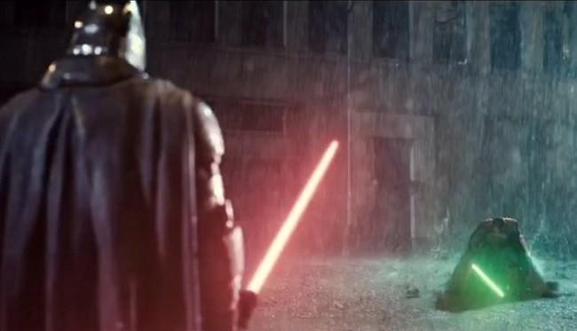 Zack Snyder Made A 'Star Wars' And 'Batman V Superman' Mashup, And The Dark Knight Gets Dark