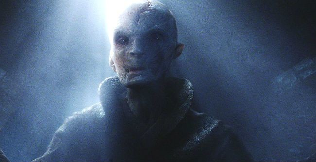 An Intriguing 'Star Wars: The Last Jedi' Theory Casts Snoke In A New Light