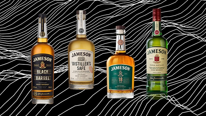 Every Bottle Of The Core Jameson Irish Whiskey Line, Ranked