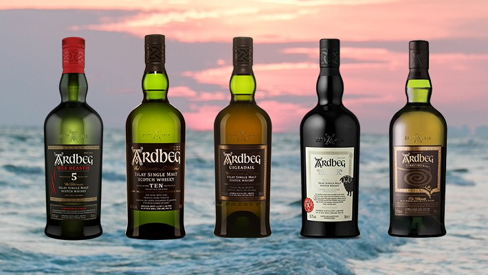 Expression Session -- Tasting Five Whiskies In The Ardbeg Portfolio