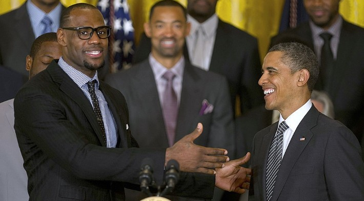 LeBron Thanked Obama On 'The Shop' For Advice During The NBA Stoppage