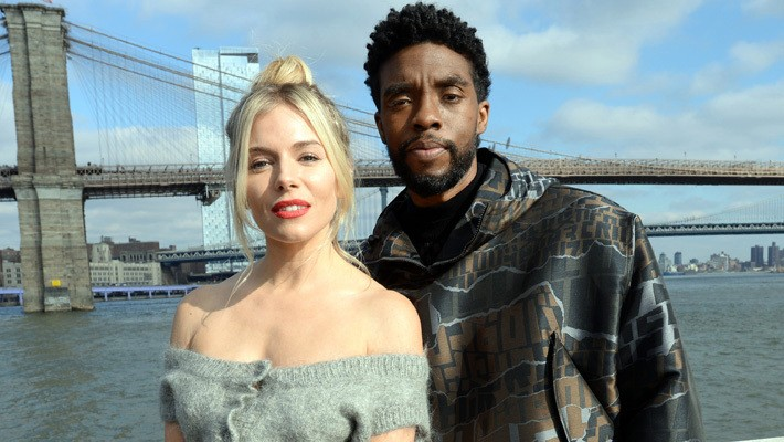 Chadwick Boseman Once Took A Pay Cut To Get Sienna Miller Paid Fairly