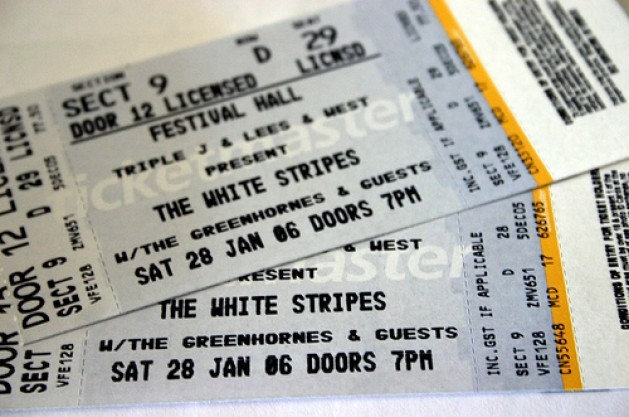 Turn Your Prized Ticket Stubs Into One-Of-A-Kind Floor Mats