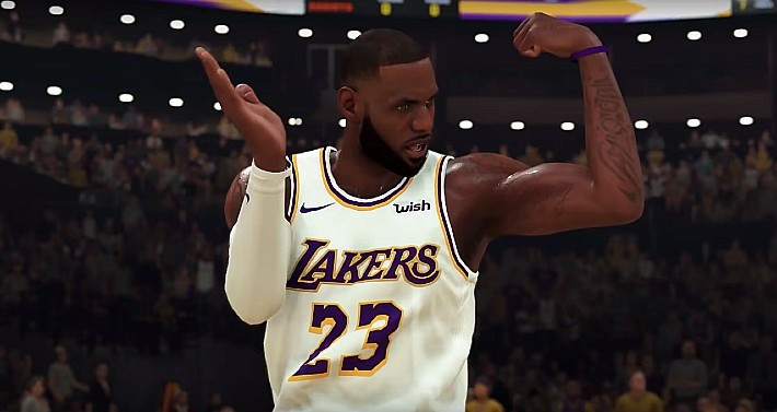 The NBA May Use 'Crowd Noise' From 'NBA 2K' For Bubble League Games