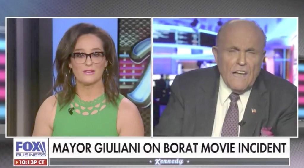 Rudy Giuliani Had A Breakdown When Asked About 'Borat 2' Hotel Scene