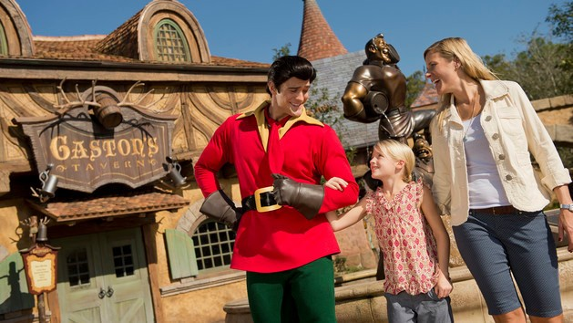 Here's Why You Shouldn't Challenge Disney World's Gaston To A Push Up Contest