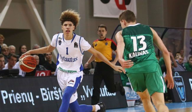 LaMelo Ball's Lithuanian Coach Wants The 'Little Chipmunk' To Stop Taking 40-Foot Shots