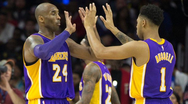 Here's What Kobe Bryant Thinks About The Progress Of Brandon Ingram And D'Angelo Russell