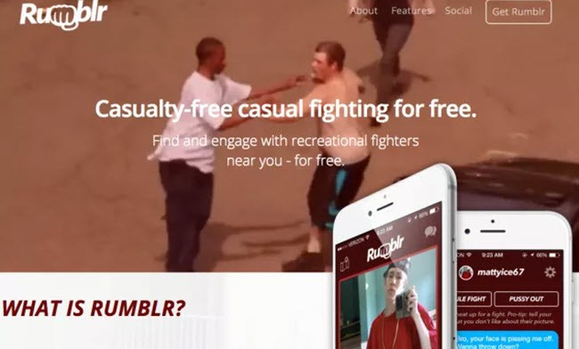 Check Out The Fake Street Fighting App That Fooled Everyone On The Internet
