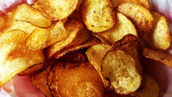 It's Time You Learned How To Make Your Own Potato Chips