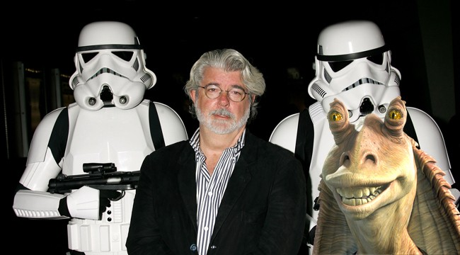 George Lucas Still Won't Apologize For Gifting The World Jar Jar Binks