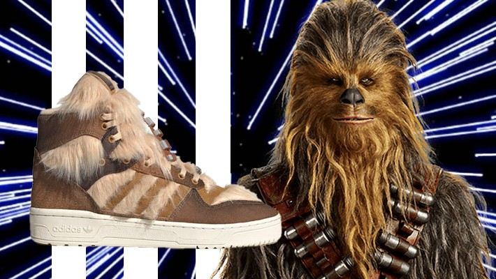 The Adidas Star Wars Collection Continues With A Chewbacca Rivalry Hi