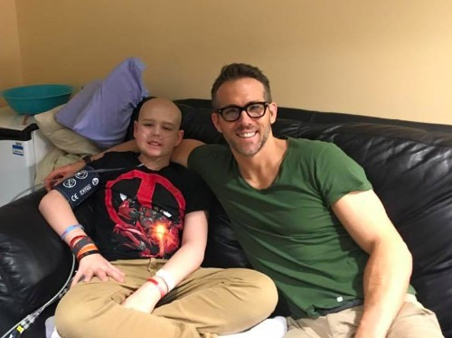 Ryan Reynolds Wrote Tribute To 'Deadpool' Fan Who Died From Cancer