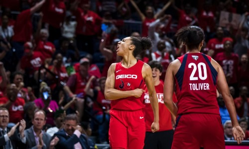 The Mystics Caught Fire In Game 3 To Beat The Sun And Take A 2-1 Series Lead