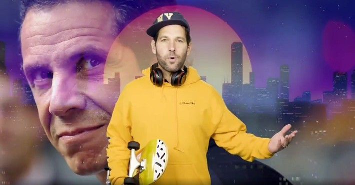 Paul Rudd Made A Totally Chill Mask PSA To Help 'Yeet This Virus'