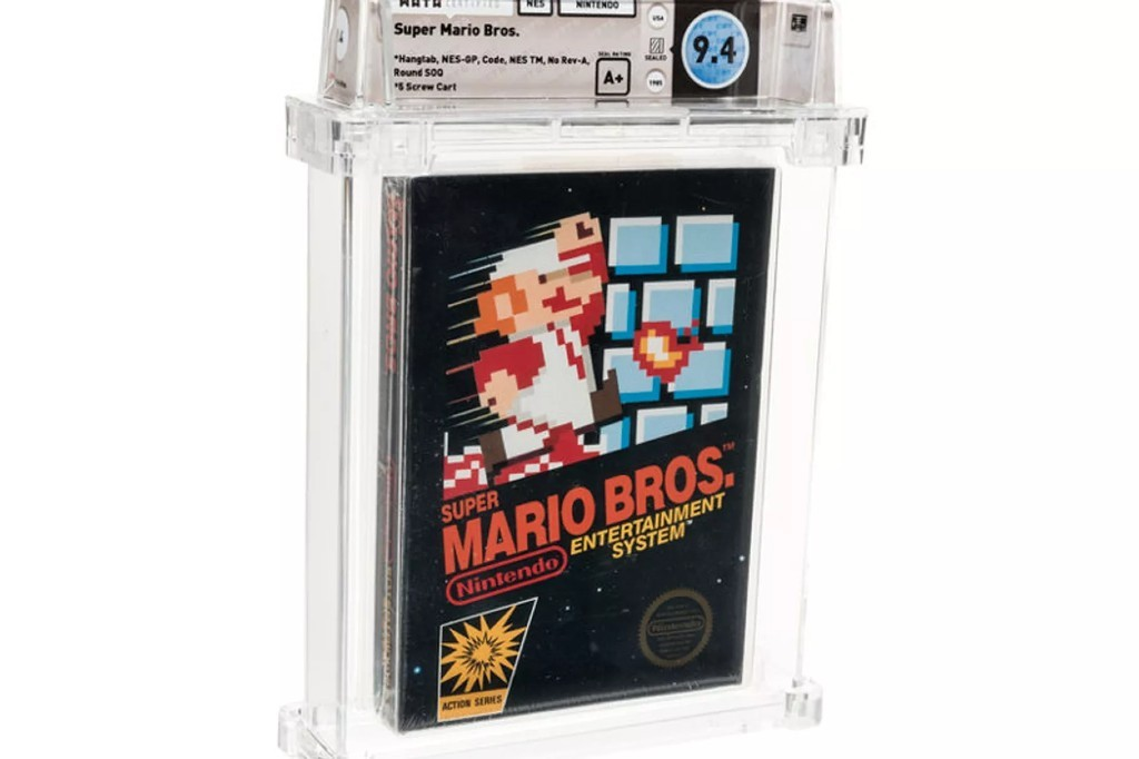 A Copy Of 'Super Mario Bros' Became The Most Expensive Game Ever Sold