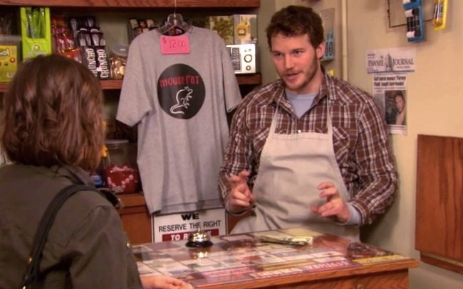 Chris Pratt Covered An 'Awesome' Song As Andy From 'Parks And Rec'