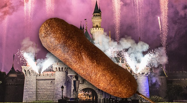 Learn To Make Disneyland's Famous Corn Dog At Home With This Recipe