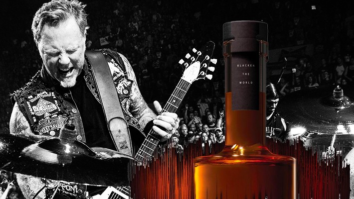 Metallica's Latest Whiskey Drops With Vinyl Of The Music That Aged It