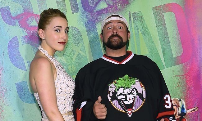 Kevin Smith Hit A Troll With A Baseball Bat Of Wisdom For Attacking His Daughter Harley Quinn