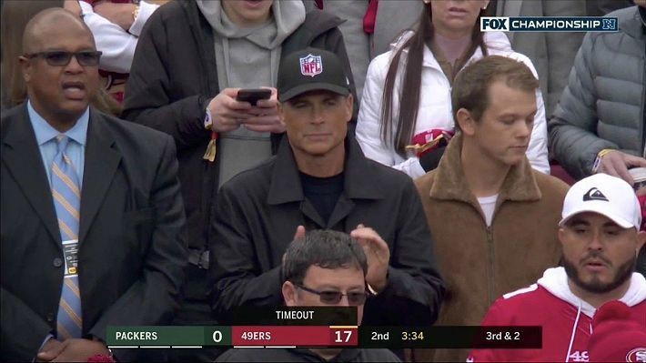 MLB Sent Rob Lowe A Generic League Logo Hat After He Wore His NFL Hat