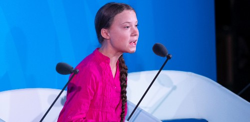 Greta Thunberg Giving Trump Serious Side-Eye At The U.N. Climate Summit Is Delighting Twitter