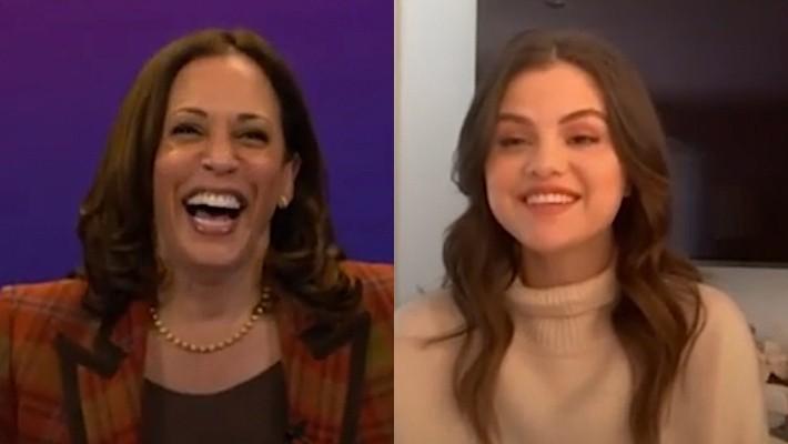 Selena Gomez And Kamala Harris Discuss Voting, Lupis, And More
