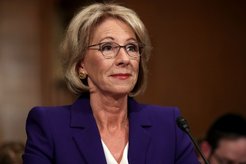 18 States Are Suing Betsy DeVos Over Delayed Student Loan Protections