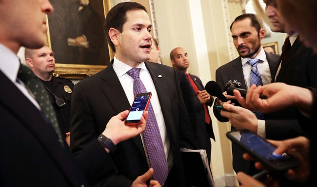 Marco Rubio Clutched His Pearls After CNN Said The F-Word And Was Promptly Ridiculed On Social Media For It