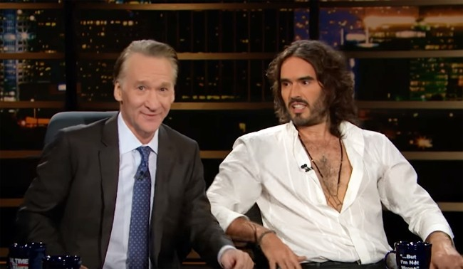 Russell Brand Takes Over 'Real Time' For An Illuminating Discussion On Addiction And Celebrity